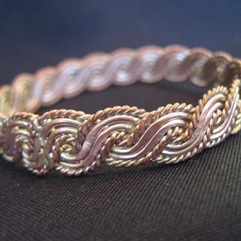 Sterling Silver Twist Brace - Fine Jewelry