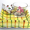 Menschik-Goldman Cat - Fishbowl Ashtray