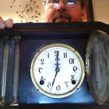E Ingrahams Mantle Clock - Clocks