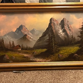 Painting from my in-laws - Fine Art