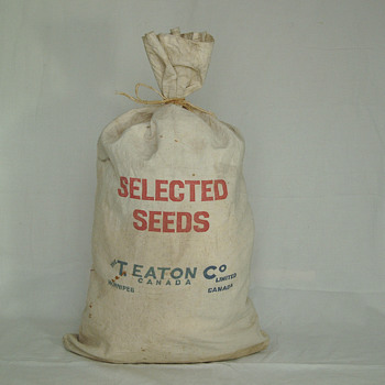 The T. EATON Co Limited, Winnipeg Seed Bag - Bags