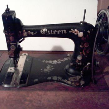 Antique Queen Sewing Machine