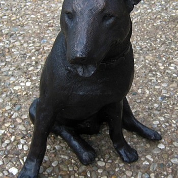 Bronze Miniature English Bull Terrier - Animals