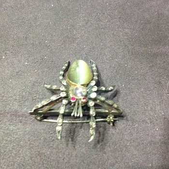 spider broach. - Fine Jewelry