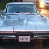 1967 silver corvette car.