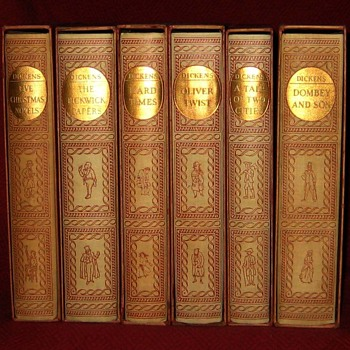 1957 Charles Dickens Book Collection - Books