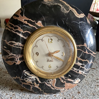Chelsea Marble desk clock - Clocks