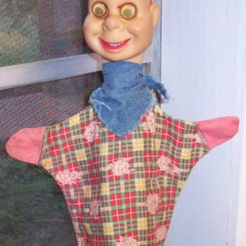 Howdy Doody hand puppet - Toys