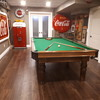 The New Coca Cola  themed games room.