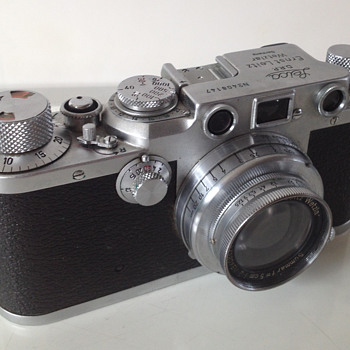 Leica Wetzlar camera and equipment