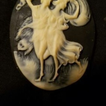 Cameo Necklace---The Storm,  - Fine Jewelry