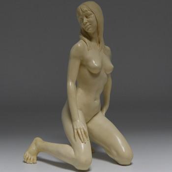 A.SANTINI, ITALY,  EROTIC NUDE FEMININE FIGURE, CIRCA 1950s-60s - Fine Art