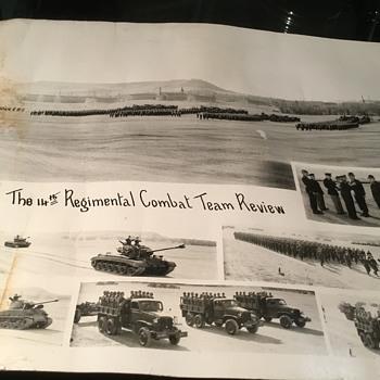 The 14th Regimental Combat Team Review. - Photographs