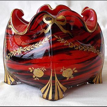 Formosa  Vase    Harrach not Riedel  - Art Glass