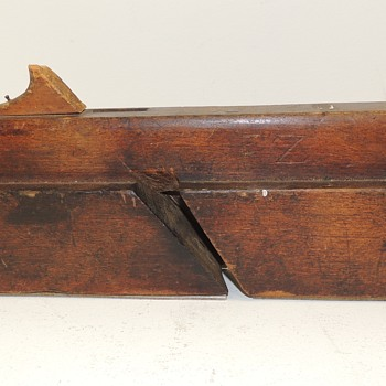 19th Century Moulding Plane - Signed F.Z.