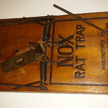 NOX rat trap, made in Abingdon, IL - Tools and Hardware