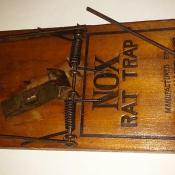 NOX rat trap, made in Abingdon, IL