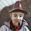 Ceramic hobo doll