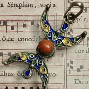 Interesting pendant  - Costume Jewelry
