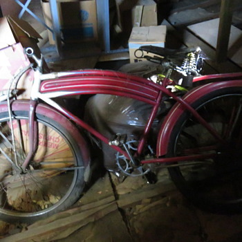 Hiawatha Bicycle  in attic - Sporting Goods