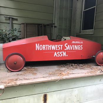 Vintage soapbox derby car - Model Cars