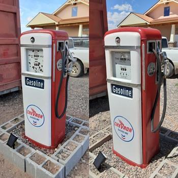 Update on  the 1949 Gilbarco 9961ls model pump.. - Petroliana