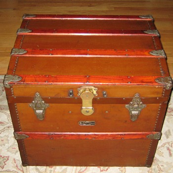 Crouch & Fitzgerald of New York Ladies' Hat Trunk - Furniture