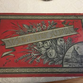 Antique Washington Album - Books