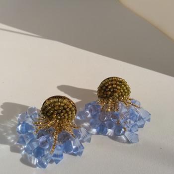 Miriam Haskell /Frank Hess ??????? Earrings - Costume Jewelry