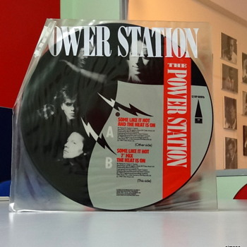 Power Station 'Some Like it Hot' 12 inch picture disc - Records