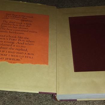 A JEWELRY BOX BOOK SAFE - Books