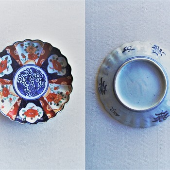 Imari porcelain plates - Asian