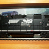 H.O. and N- scale trains