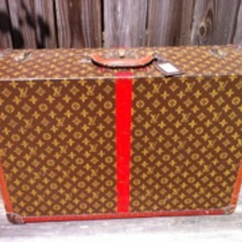 pre 1945 Louis Vuitton Alger 70 suitcase - Bags