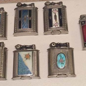 Vintage various Evans Lighters from 1920's - Tobacciana