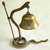 Chinese Brass Serpent Dinner Bell