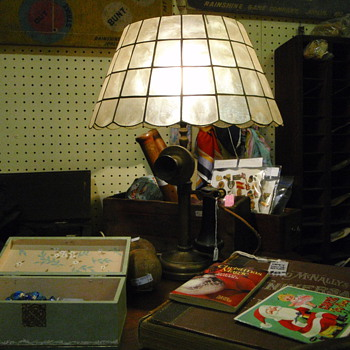 kellogg phone lamp