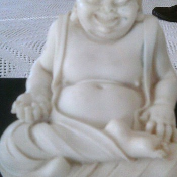 Sitting smiling Buddah  - Asian