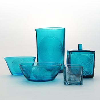 SKJOLD set, Per Lütken (Holmegaard, 1960) - Art Glass
