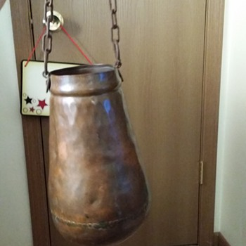 My antique copper pail - Kitchen