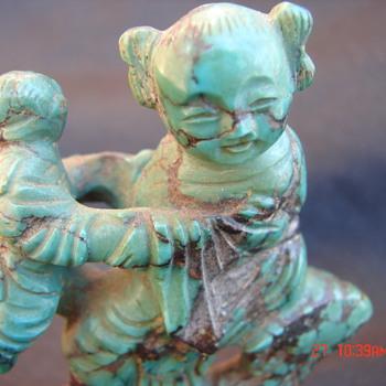 Jade Chinese Figurine Antique? Jade? Chinese?