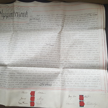 The old document from 1873 year.