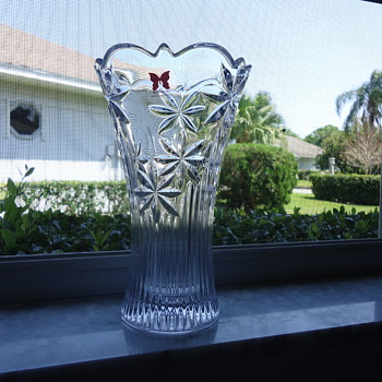 a VASE FROM WATERFORD
