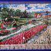 Vintage Tapestry with Fringe