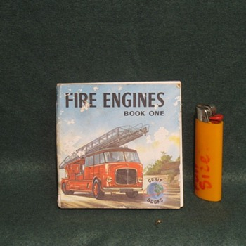 old fire kids fire engine book