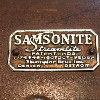 Samsonite Luggage - Bags