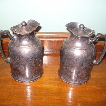 Landers Frary & Clark or Stanley? Thermal Pitchers - China and Dinnerware