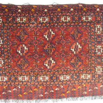 19th Century Saryk Turkomans Chuval Weaving - Rugs and Textiles