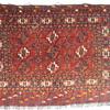 19th Century Saryk Turkomans Chuval Weaving
