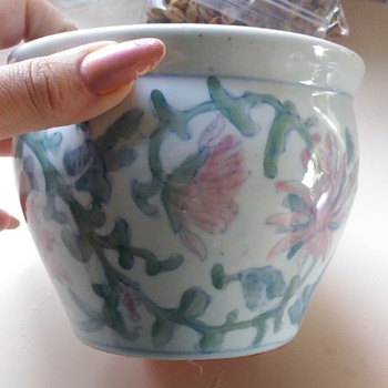 Old flower pot - Pottery